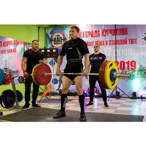 В городе-спутнике Курской АЭС прошел турнир по силовым видам спорта
