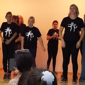 Волонтеры Ставропольской психбольницы дали концерт в 33 школе