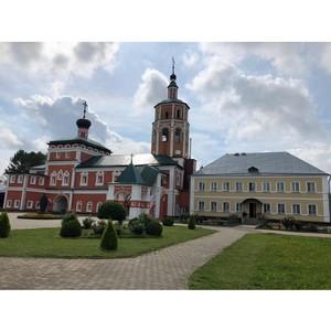 В древнем храме города Вязьмы установили окна Deceuninck