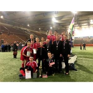 Команда МсСВУ заняла 2 место среди 36 команд в турнире по мини-футболу