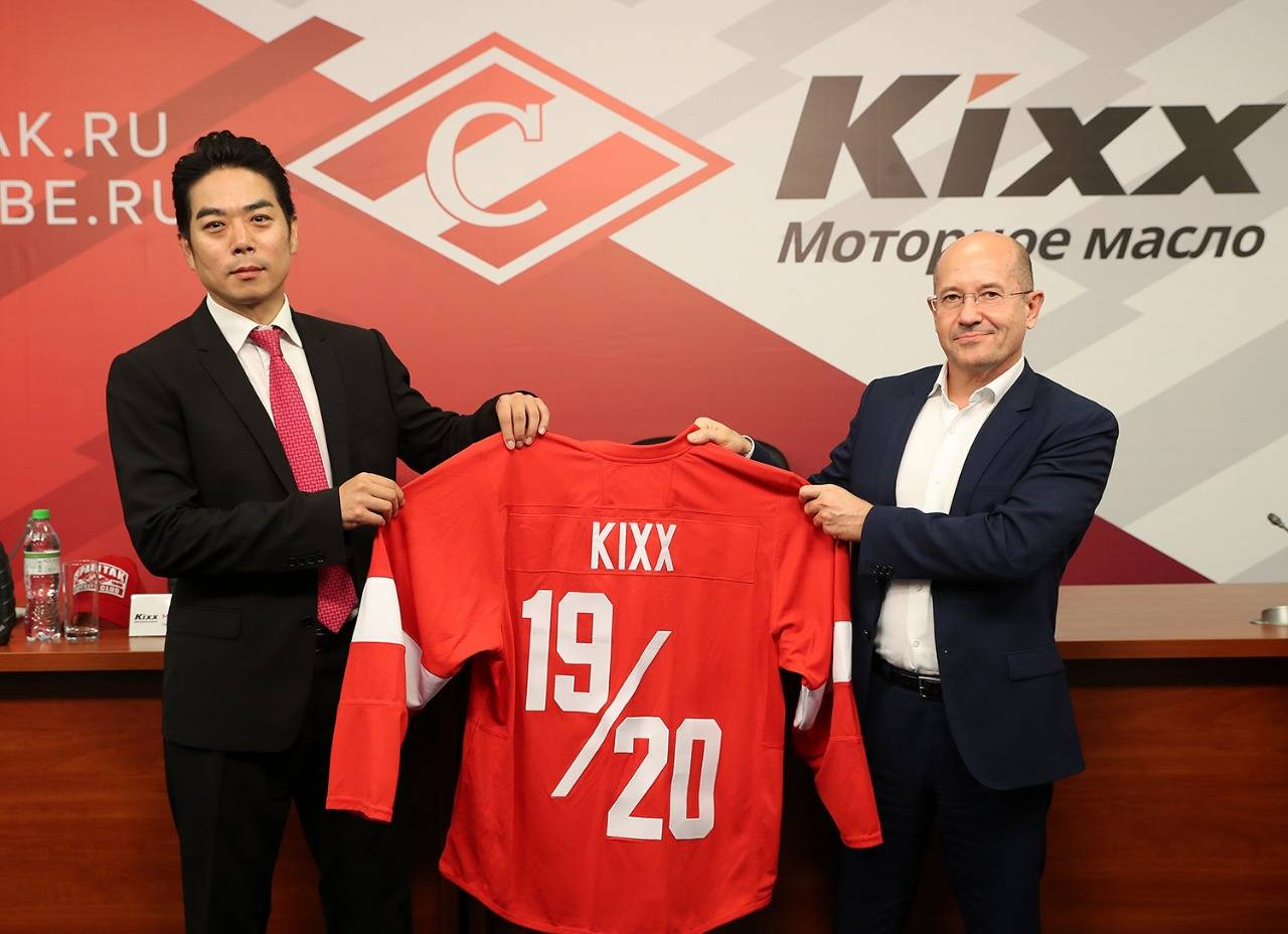 Бренд моторных масел Kixx стал официальным спонсором ХК «Спартак»