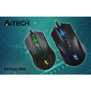Идеальная игра с компьютерной мышью A4Tech X89