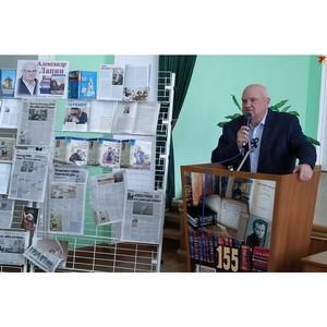 Воронежский писатель представил книгу о переломном 2014 г