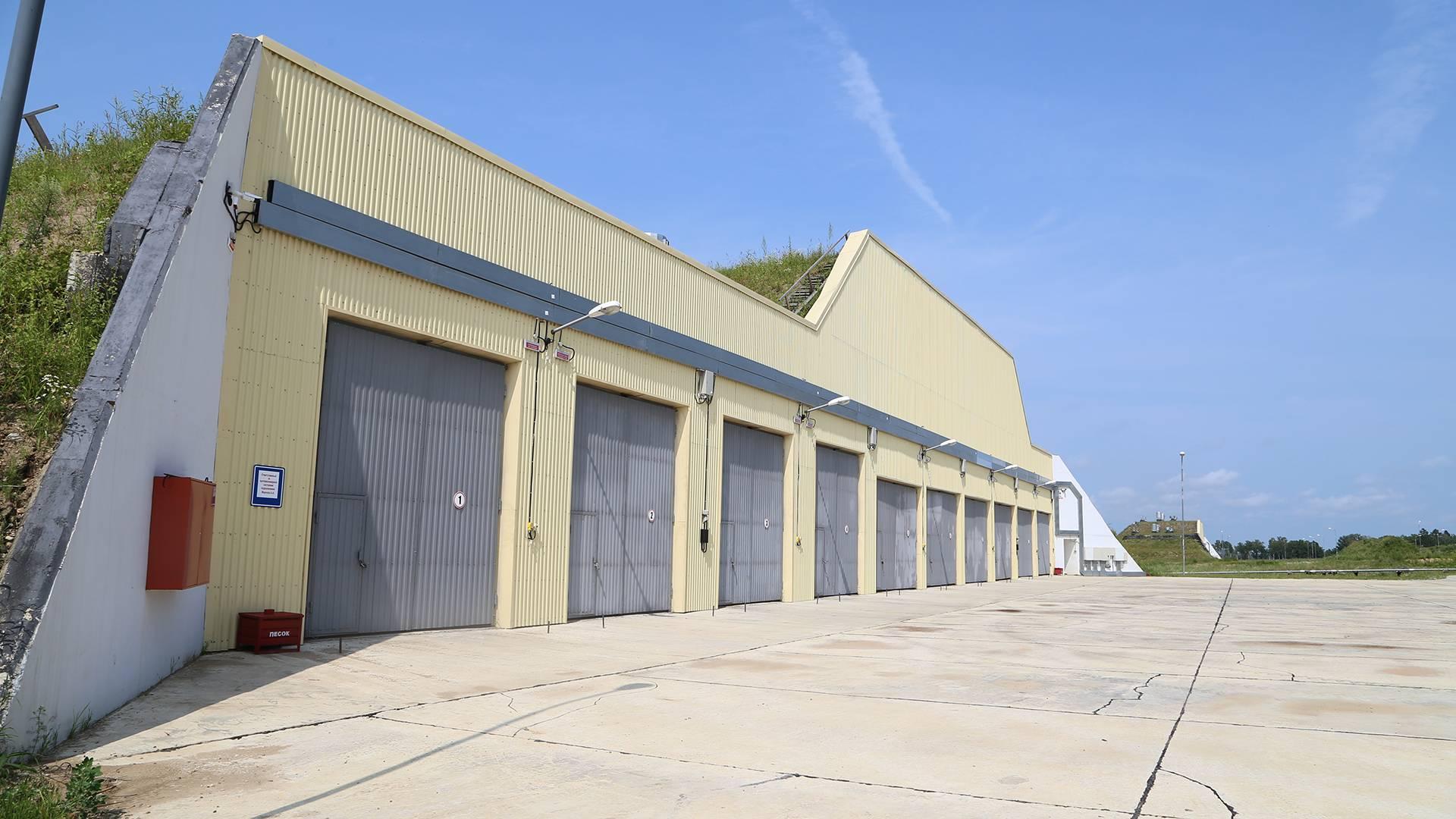В ЕАО военные строители создают новый технический парк