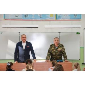 Активисты ОНФ в Коми провели урок мужества для школьников в Сыктывкаре