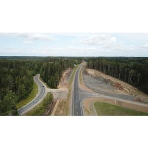 Открыто движение по новому участку автодороги А-121 «Сортавала» в Карелии