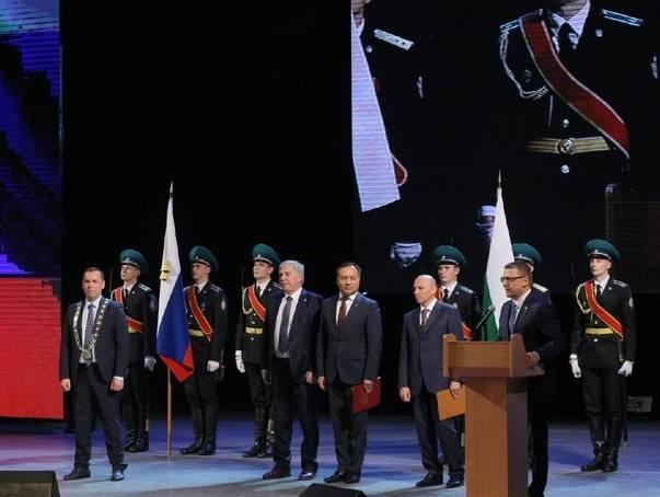В Кургане вступил в должность губернатор Вадима Шумкова