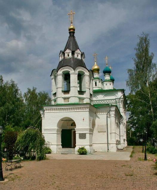 Церковь Рождества Пресвятой Богородицы в Рождествено-Суворово, 1694-1697 гг.