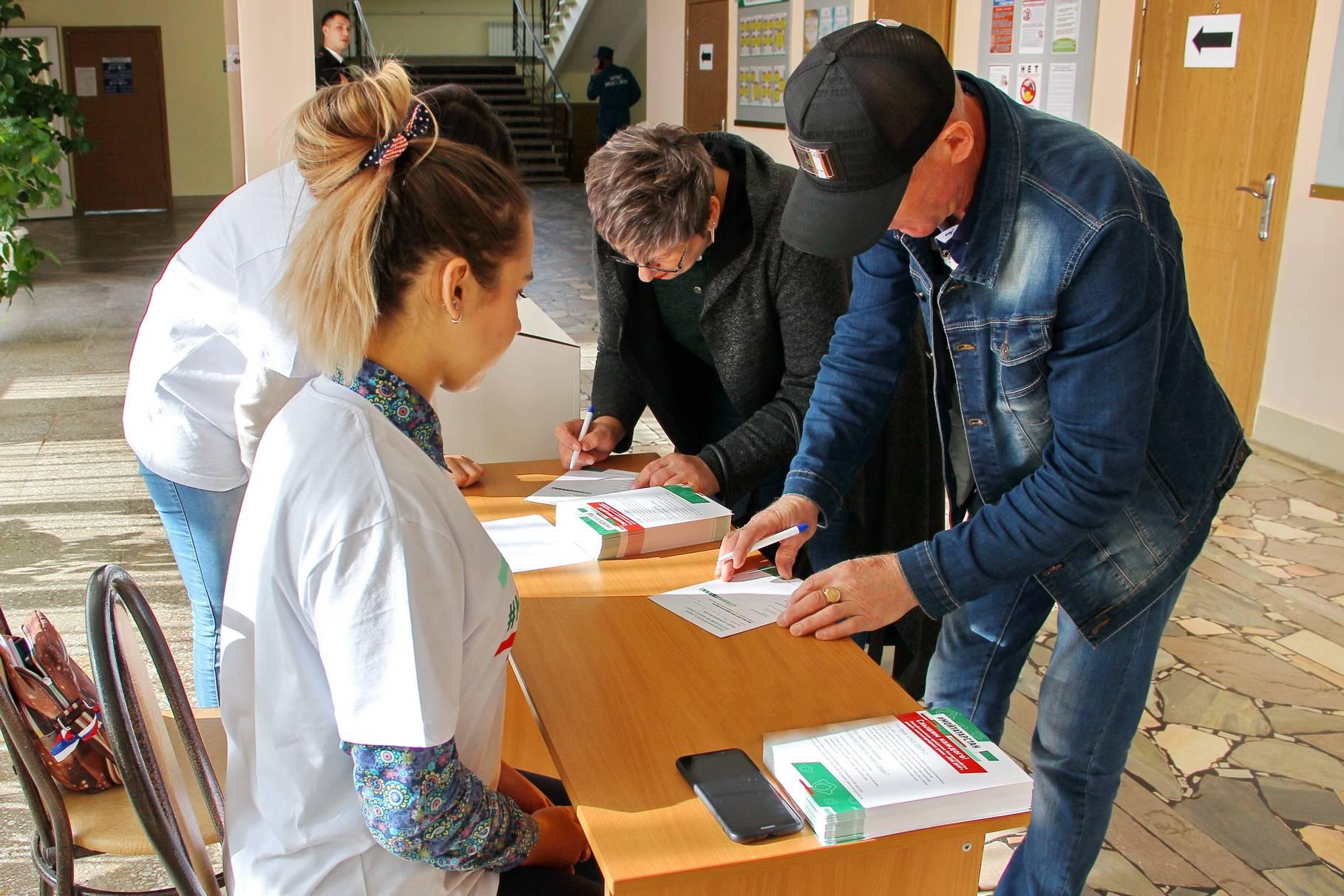 Камполянцы активно участвуют в анкетировании по благоустройству дворов