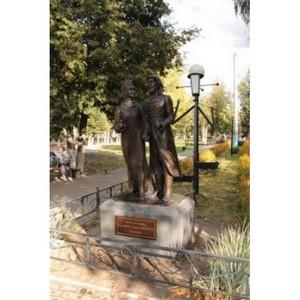 В г. Сельцо открыли уникальный памятник святым Петру и Февронии