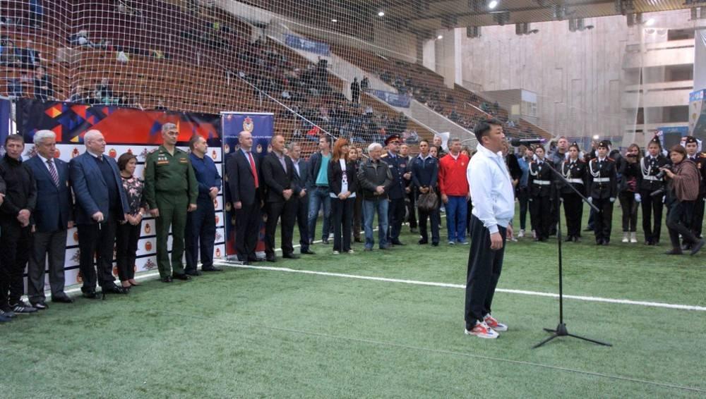 Праздник футбола украсило выступление танцевальных коллективов ЦК «Хорошевский»