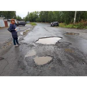 Активисты ОНФ попросили власти отремонтировать дороги в Петрозаводске