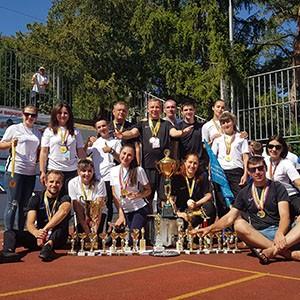 Ставропольская психбольница выиграла спартакиаду работников здравоохранения