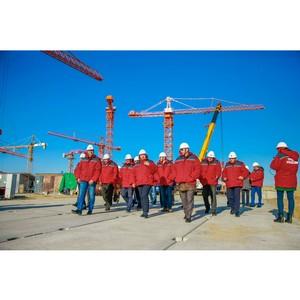 Депутаты Курчатовской гордумы оценили ход строительства энергоблоков ВВЭР-ТОИ