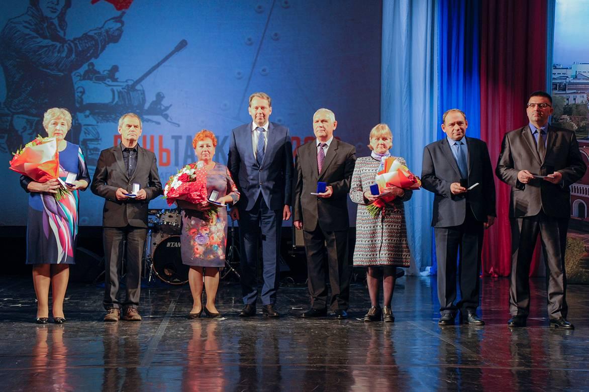 На Уралвагонзаводе отпраздновали День танкиста