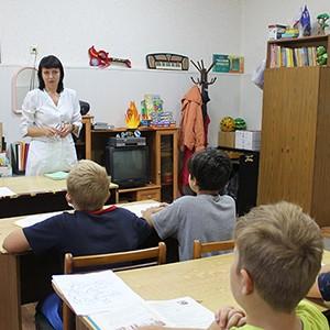 Первый урок в Ставропольской психиатрической больнице