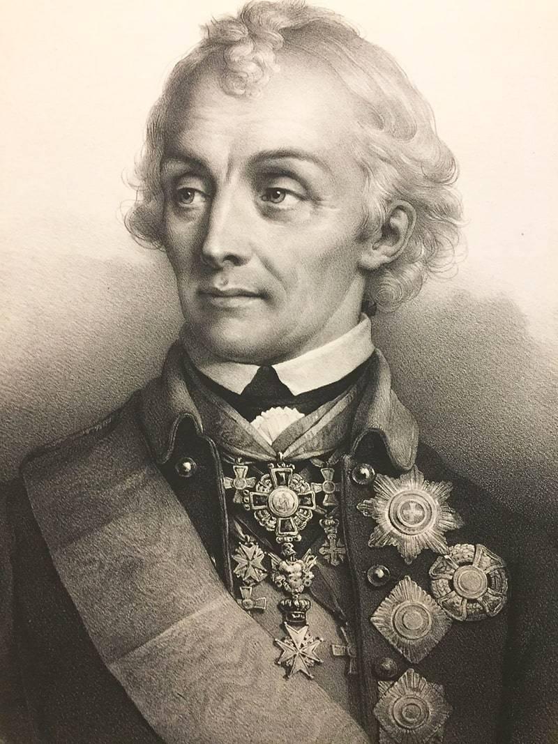 Александр Васильевич Суворов. Биография