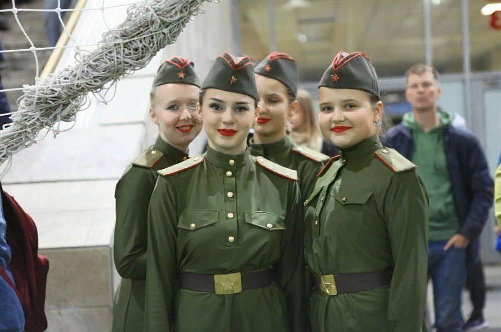 На празднике футбола выступил танцевальный коллектив ЦК «Хорошевский»