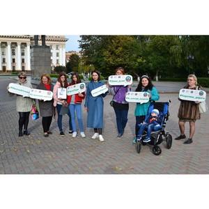 Акция в поддержку проекта «Автоледи – за культуру вождения!» прошла в Тюмени