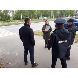 Активисты ОНФ проверили безопасность дорог вблизи петрозаводских школ