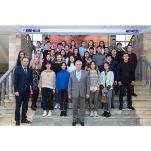 Первые впечатления иностранных студентов от УрГЭУ