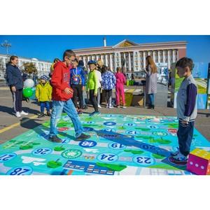 Курская АЭС приняла участие в праздновании 987-й годовщины Курска