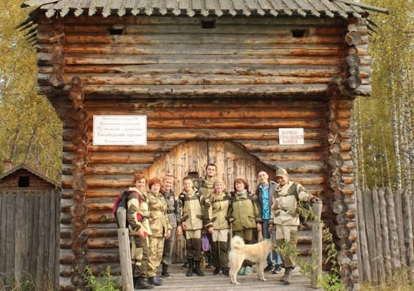 Ребята из ВПК «Ястреб» приняли участие в экспедиции в Тюльберский городок
