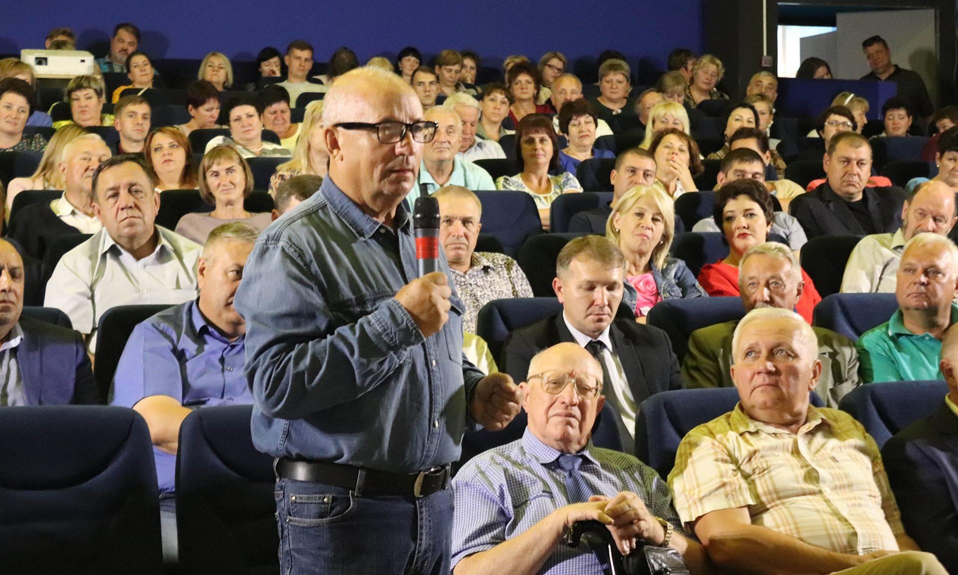 В Трубчевске состоялось совещание по национальным проектам