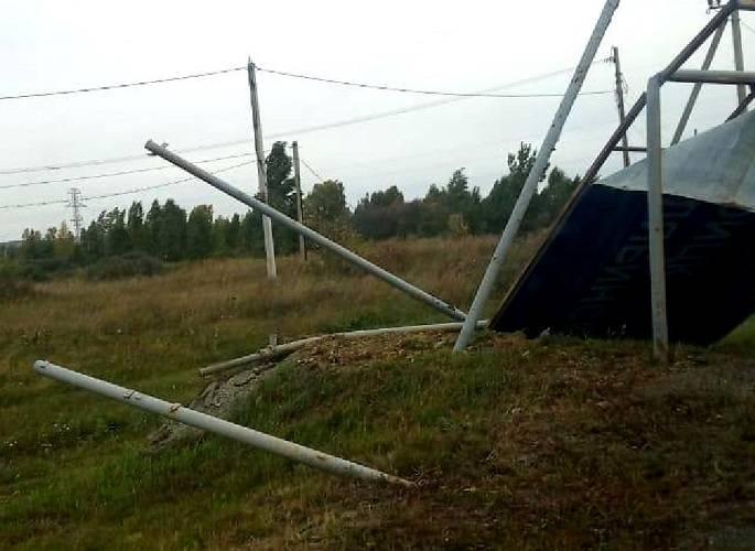 Последствия сильного ветра своевременно ликвидированы