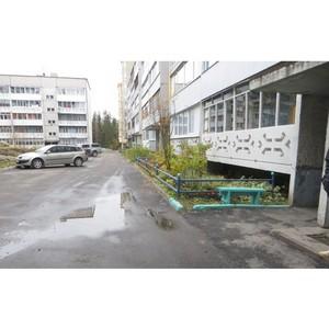 Благодаря ОНФ исправлены дефекты благоустройства дворов в Карелии