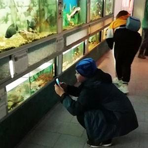 Маленькие пациенты Ставропольской психбольницы посетили зооэкзотариум