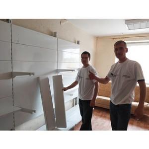 В Тюменской Дармарке силами волонтеров НКО завершается ремонт