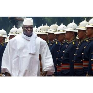 Президент Гамбии примет участие в саммите Россия - Африка