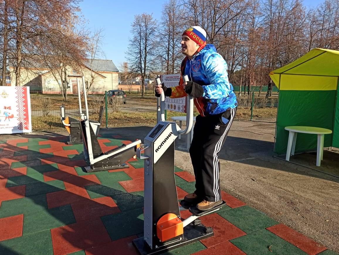 В Северске открылась первая в Томской области площадка ГТО