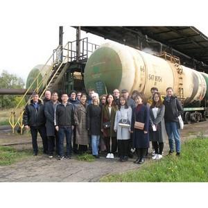 Студенты из Германии и Китая изучили опыт ПГК по подготовке цистерн