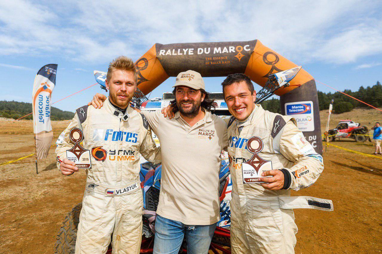 Серебро с золотым оттенком у Сергея Карякина на Rallye du Maroc