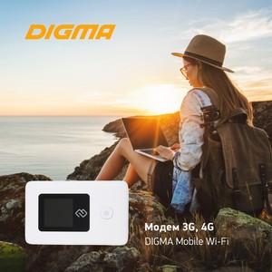 Портативный роутер Digma 3G/4G Mobile Wi-Fi: Интернет, когда он нужен