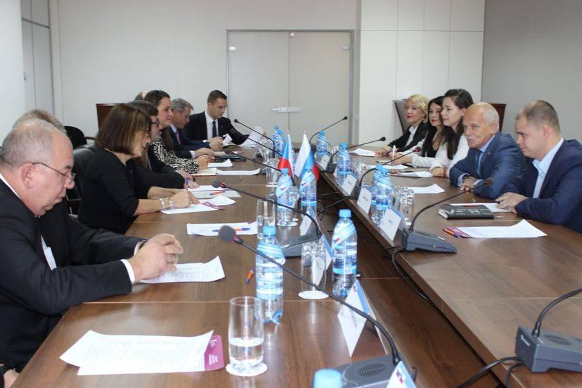 Делегация Южночешского края Чешской Республики на встрече в УТПП