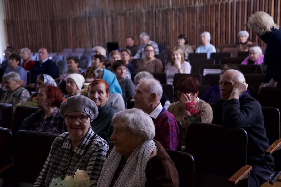 В Лесном прошло чествование представителей старшего поколения