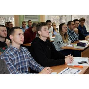 Сотрудники Рязаньэнерго провели лекции для студентов