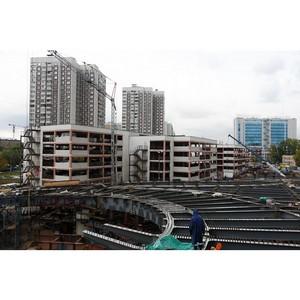За 9 месяцев в СВАО построили и сдали почти 1 млн кв.м недвижимости