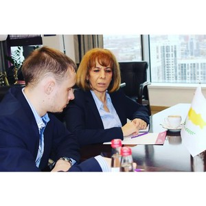 Новый генеральный консул Кипра в Екатеринбурге посетила Уральскую ТПП