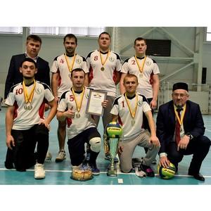 Нацавтономия татар Чувашии - победитель волейбольного турнира в регионе