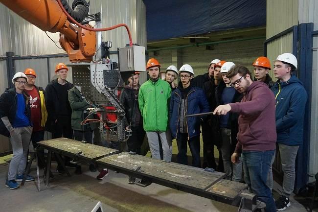 Учебно-производственная экскурсия для студентов Политехникума