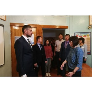 Александр Осипов посетил кокуйскую школу №1 Забайкальского края