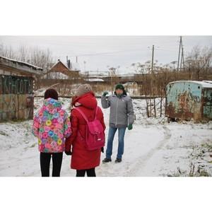 Активисты ОНФ в Коми выявили самую опасную дорогу в школу в Сыктывкаре