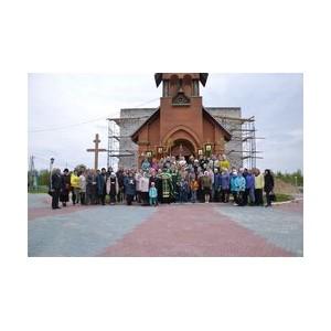 «РуссНефть» оказывает помощь в строительстве храма