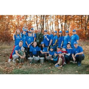 Корпоративные волонтёры приняли участие в экологических акциях