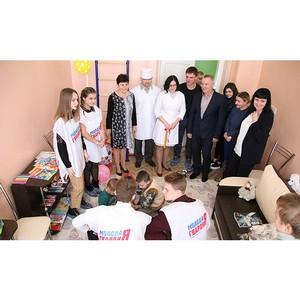 В больнице Гуково впервые открылась детская игровая комната