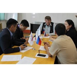 ОНФ в Туве просит обустроить территорию вблизи школ до зимы